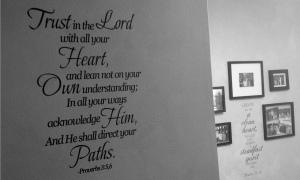 scripture hallway